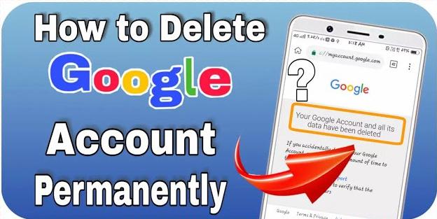 How To Delete Google Account?