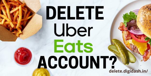 How To Delete Uber Eats Account?