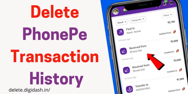 How To Delete PhonePe Transaction History?