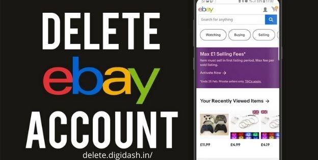 How To Delete eBay Account?